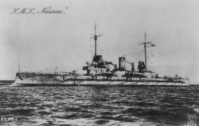 11 císař.Německo Třída Nassau 1909