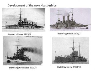 02 vývoj bitevních lodí Kriegsmarine