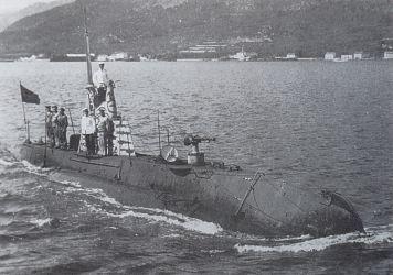 10 ponorka U5 v Boce Kotorské