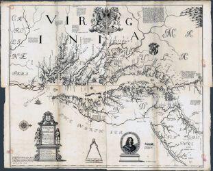 02 Heřmanova precizní mapa Marylandu a Virginie