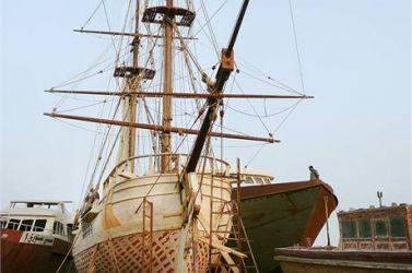 03 Tradiční historickáí výroba trupu La Grace
