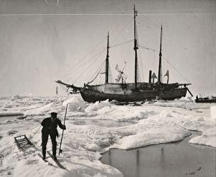 07 Fram v Antarktidě- dobíjí baterie větrem