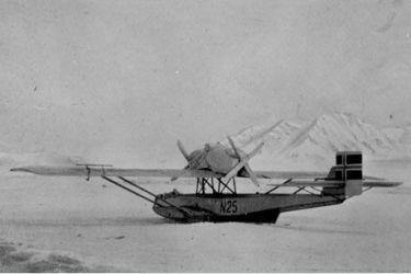 16 a legendární Dornier N 25 všechny odnesl zpět do Svalbard
