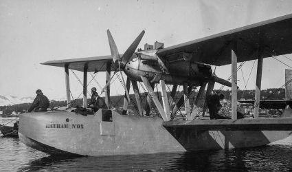 19 na jednom Lathamu, typu 47, zahynul Amundsen