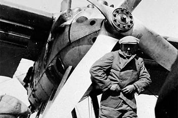 20 Amundsen před startem u letadla Latham se kterým zmizel