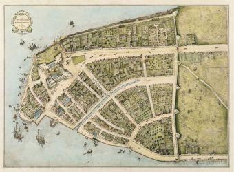 02 a NovýAmsterdam mapa z r. 1660