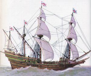 03 b anglická galeona alžbětinská doba